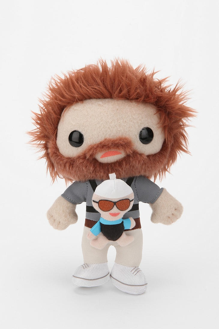 The Hangover Alan Plush hilarious and odd all at the same time.