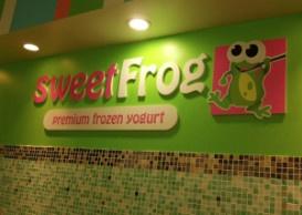 Sweet Frog Frozen Yogurt!