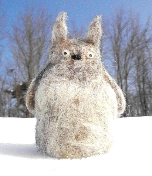 Totoro  puppet felt by diacraft on Etsy, $28.00