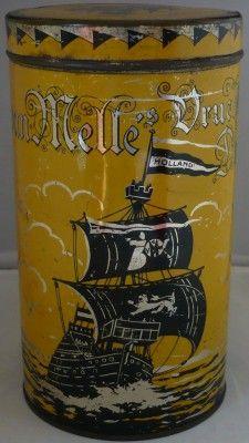 Dutch Van Melle's tin