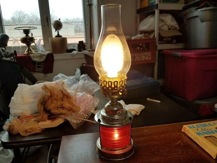 Underwriters Laboratories portable Lamp Nautical Themed