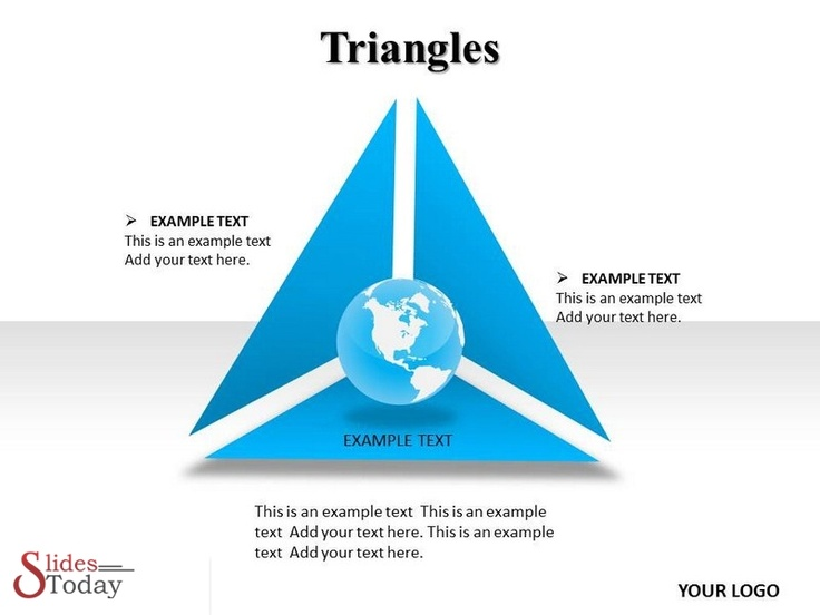 Triangles PowerpointTemplate