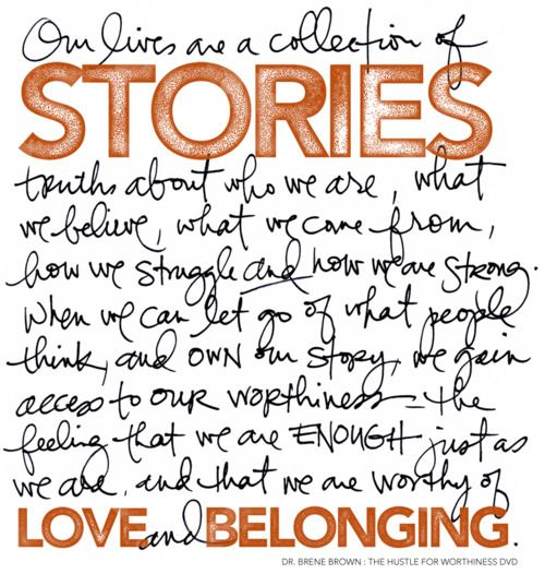 well said...: Ali Edward, Brene Brown, Hands Written, Belong, Quotes, Brenebrown, Letters Style, Living, Projects Life