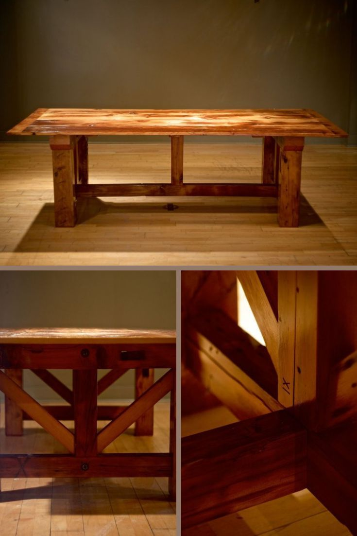 Not Your Average Farm Table Rustic Table Reclaimed Wood Dining Etsy Reclaimed Wood Dining Table Wood Dining Table Modern Accent Chair