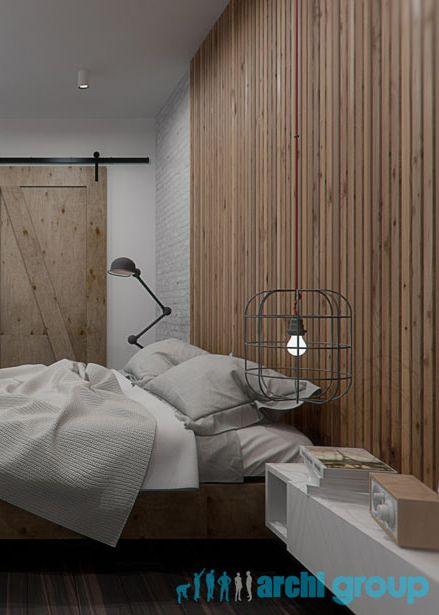 Bedroom design in Zabrze, POLAND - archi group. Sypialnia w Zabrzu.