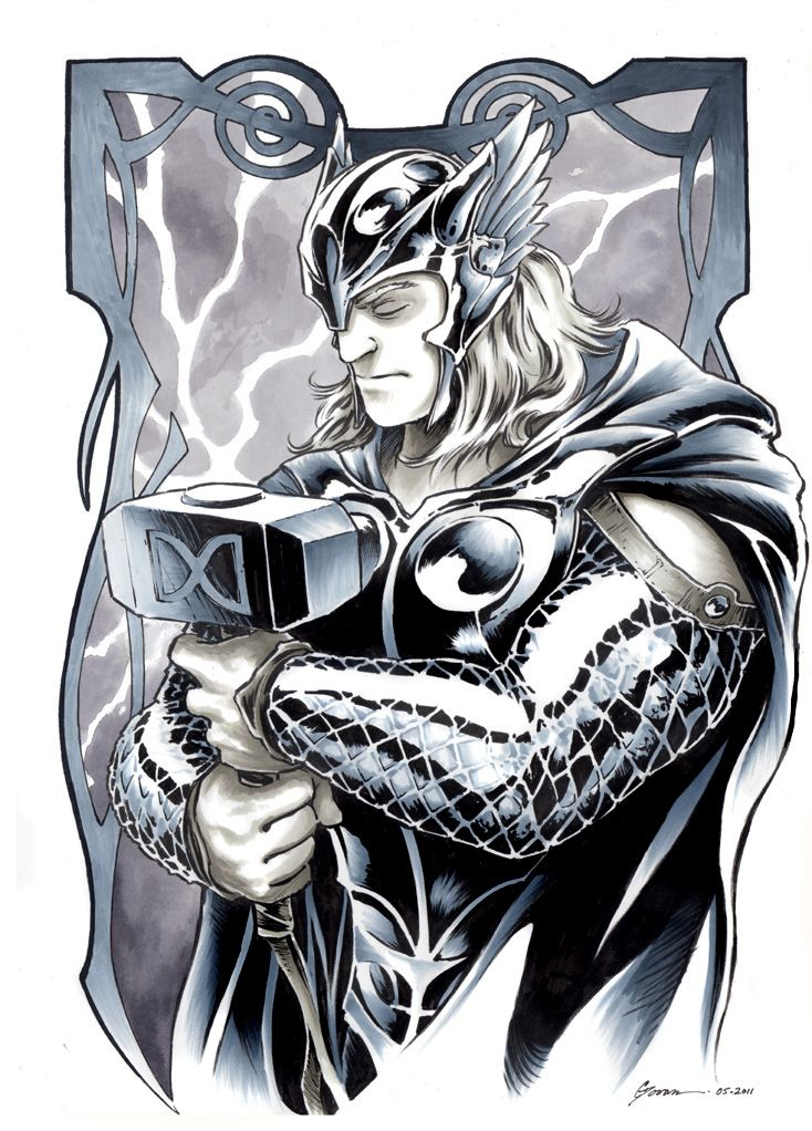 Thor 1 by DanielGovar.deviantart.com on @deviantART