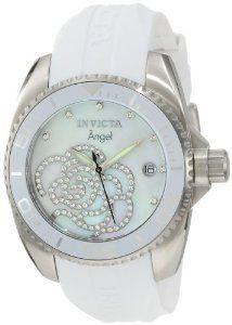 #Invicta 0486 Collection Zirconia Polyurethane  women watch #2dayslook #new #watch #nice  www.2dayslook.com