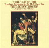 Carlo Gesualdo: Tenebrae Responsories for Holy Saturday [CD], 08568748