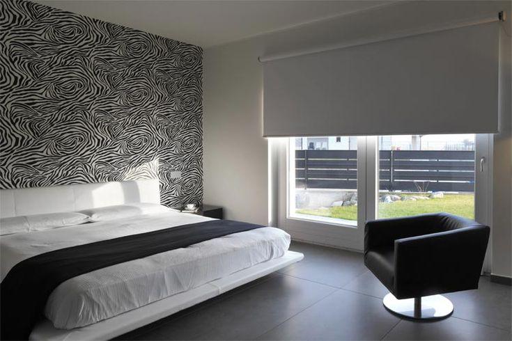 Textured Roller Blinds for Bedroom Windows