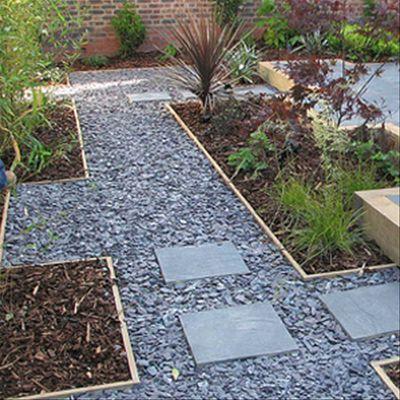 1000 ideas about 20mm gravel on pinterest gravel for Blue slate garden designs