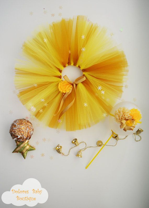 Baby Mustard/Yellow Tutu Baby by DoloresBabyBoutique on Etsy