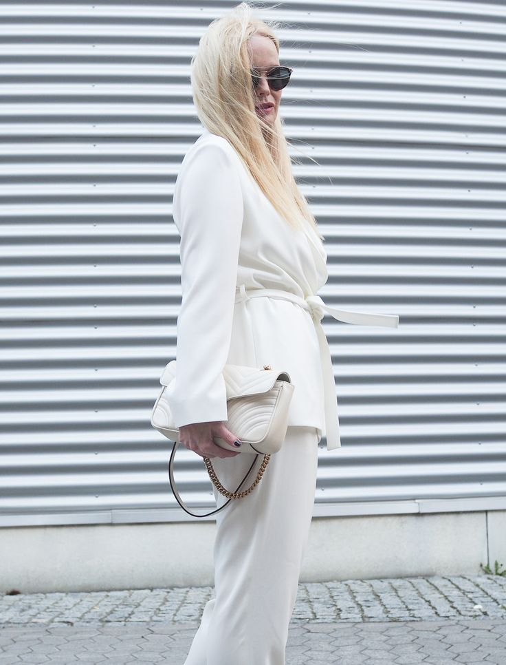 Alle White Outfit by Sandra Levin #fashion #mode #style #styling #gucci