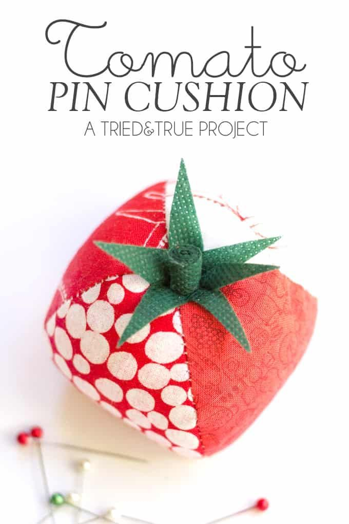Quilted Tomato Pin Cushion Pin Cushions Beginner Sewing