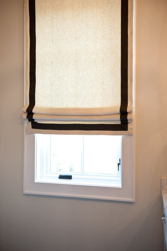 Flat Roman Shades For Windows : Best images about window coverings on pinterest