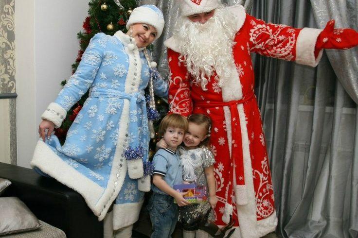 Дед Мороз и Снегурочка в Самаре http://albionevent.ru/ded-moroz/