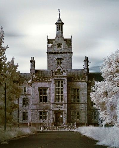 In 1842, Dr. Samuel Hitch noticed the terrible treatment that poor Welsh mental patients were receiving in English asylums. He drummed up public interest in building a new lunatic asylum to serve Northern Wales, and in 1848 Denbigh Asylum opened its doors. It operated until 1995. Since then, its future has been somewhat uncertain.
