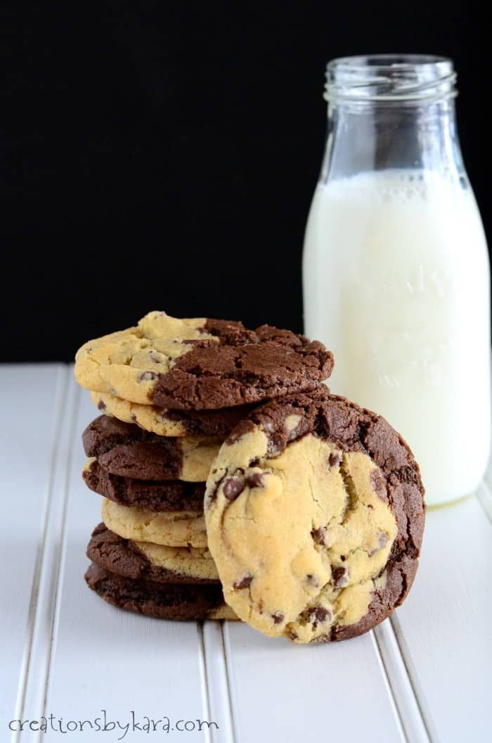 Share Tweet Pin Mail Brookies Brownies Plus Chocolate Chip Cookies All Rolled Together In One Spectacular Treat That Will Ma Food Desserts Vegan Sweet Potato