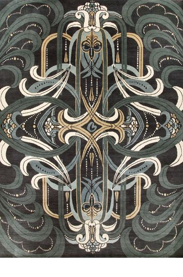 Catherine Martin's new rug collection with Designer Rugs - Deco range 'Rhapsody'.