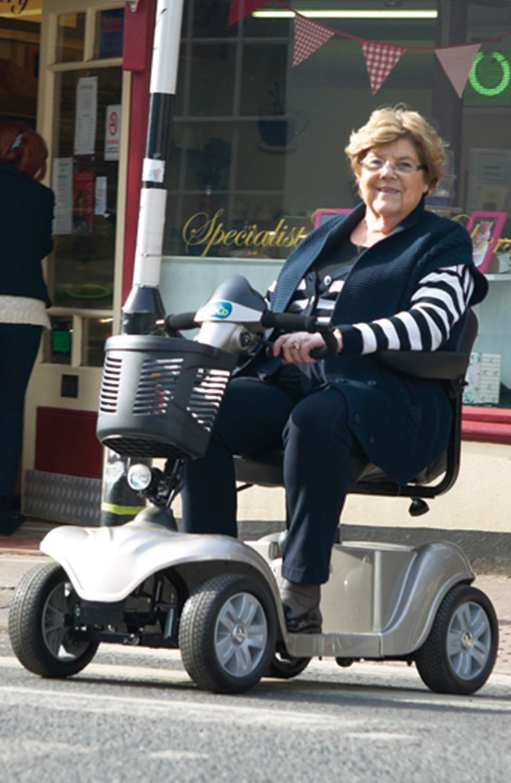 A great way to visit friends and go to the shops the CareCo Victory is a versatile and safe mobility scooter ideal for travelling on the pavement.