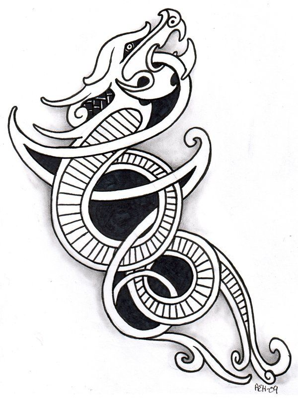 Viking Dragon 2 by ~vikingtattoo on deviantART