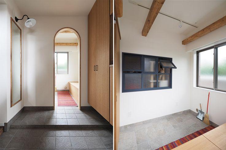 玄関・土間・室内小窓