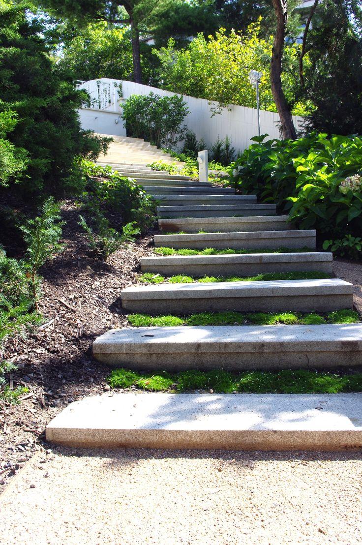 #landscape #architecture #garden #path #stairs