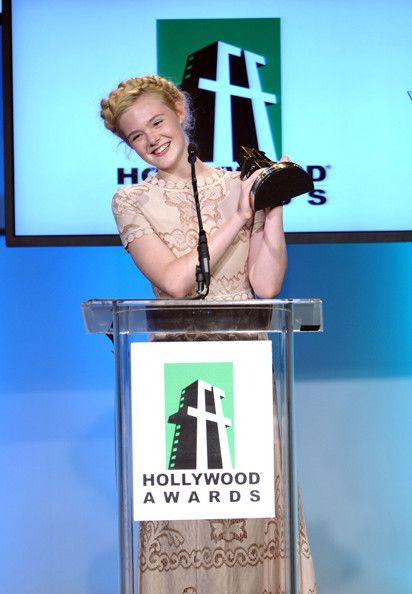 Elle Fanning Photos - 15th Annual Hollywood Film Awards Gala Presented By Starz - Show - Zimbio