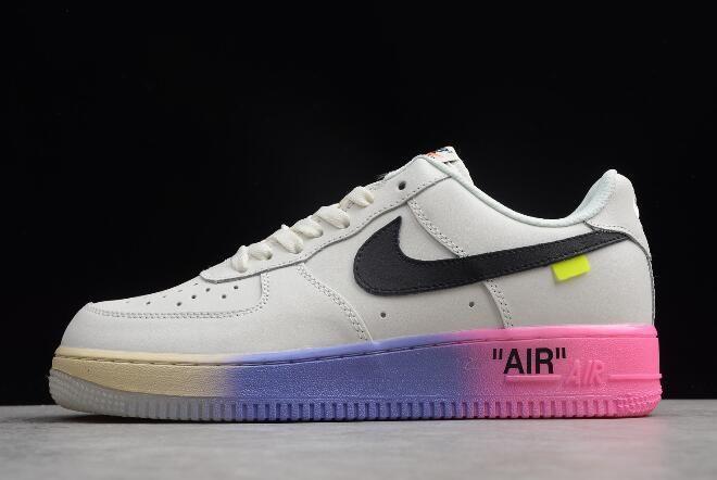 """470f0d4801df 2018 Off White x Nike Air Force 1  07 LV8 """"Queen"""" Elemental Rose AJ7748-800"""