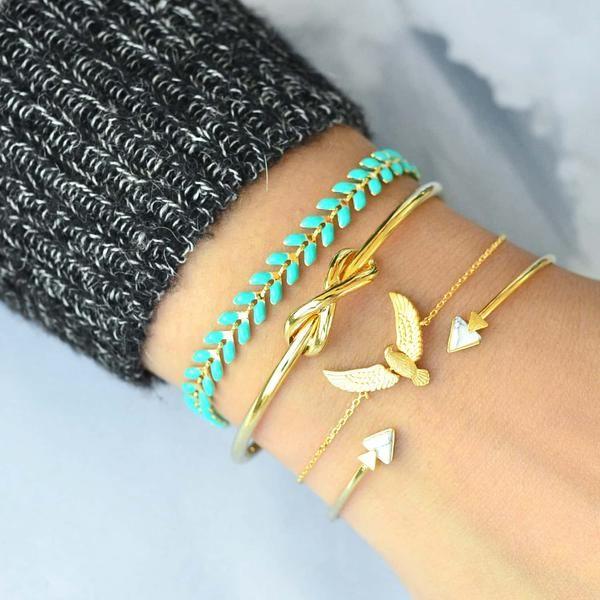 Bracelet Kheops Marbre - Or