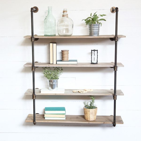 Pipe Shelf Kitchen: 25+ Best Ideas About Pipe Shelves On Pinterest