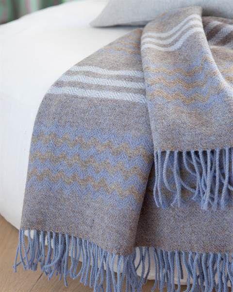 Wolldecke Blau Grau Wolldecke Blau Grau Und Tagesdecke