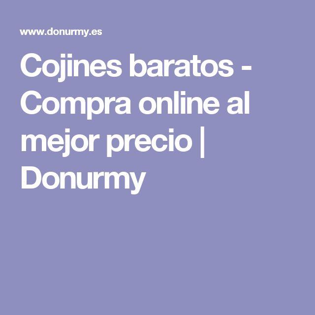 Cojines baratos - Compra online al mejor precio | Donurmy