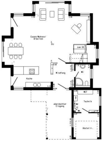 14 best einfamilienhaus toskana hanghaus images on for Stadtvilla plan