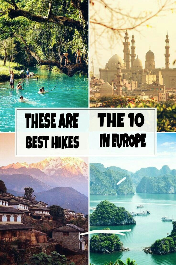 Best Hikes in Europe That You Have to Do in Your Lifetime