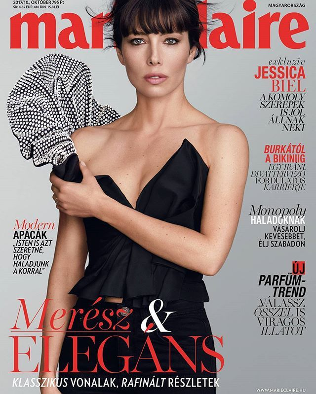 A mai szuper hírünk hogy megjelent az októberi Marie Claire plusz Beauty Extra melléklettel. Keressétek! #marieclaire #cover #covergirl #jessicabiel #new #fresh #beautyextra #marieclairebeauty  via MARIE CLAIRE HUNGARY MAGAZINE OFFICIAL INSTAGRAM - Celebrity  Fashion  Haute Couture  Advertising  Culture  Beauty  Editorial Photography  Magazine Covers  Supermodels  Runway Models