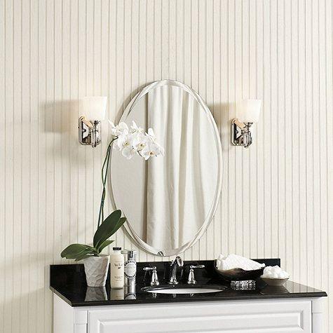 Frameless Beveled Mirror