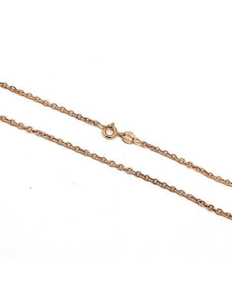 Αλυσίδα Χρυσή 14Κ σε Ροζ Χρώμα Αναφορά 018041 Αλυσίδα Χρυσή 14Κ σε ροζ χρώμα και με μήκος 50 εκ.