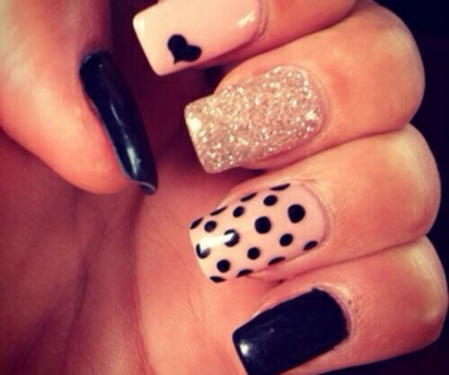 57 best high fashion nails images on pinterest cute nails belle cute nails prinsesfo Gallery