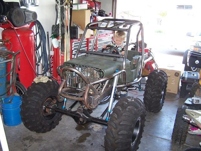 Mini Rock Crawler For Kid Race Jeeps Mini Jeep