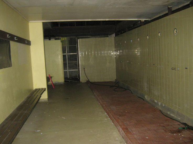 Shower Block, Old Geelong Gaol, 21st June, 2014. Image by D Roach