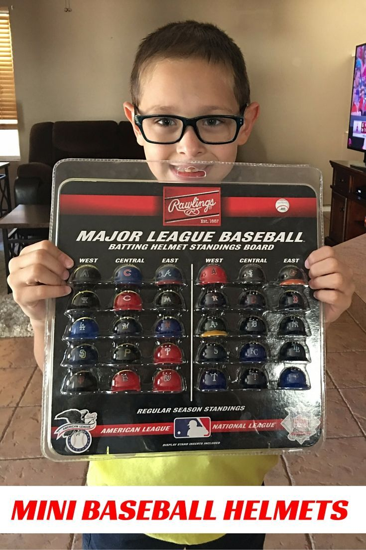30 Mini Baseball Helmets To Track The Mlb Standings Includes Stand