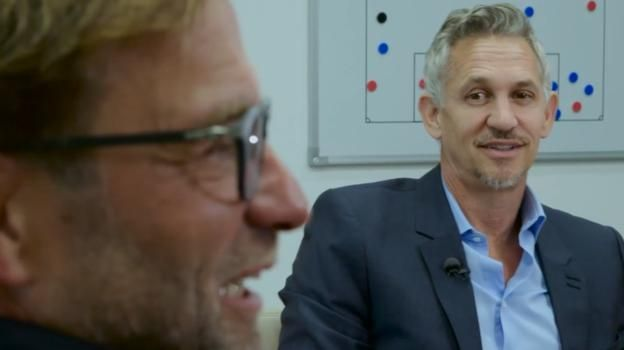 Gary Lineker on meeting Liverpool boss Jurgen Klopp for The Premier League Show - BBC Sport