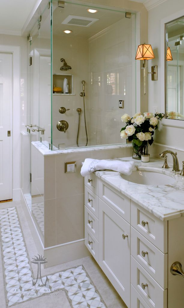 Bath design by Jennifer Gilmer Kitchen u0026