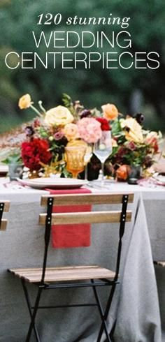From rustic to modern, filter by season or style to find the right one for you. Looking for the perfect wedding theme? This interactive guide offers a huge list of fun, themed ideas for memorable Wedding Centerpieces for the reception.