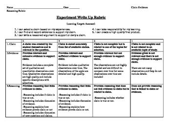 assess the claim that schools are Middle school students and science writing: supporting claims with evidence and reasoning katherine l mcneill boston college overview of session critique examples of student writing discuss importance of scientific explanations and argumentation use rubrics to assess students' writing.