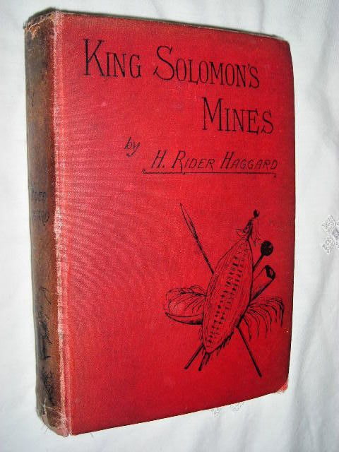 H Rider Haggard - King Solomon's Mines 1887 Cassell & Co - Early ed 37th thou