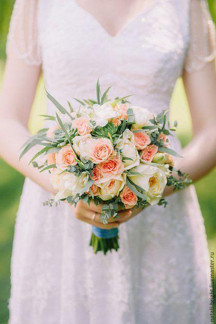 Bride's bouquet / Букет невесты из ароматных французских роз