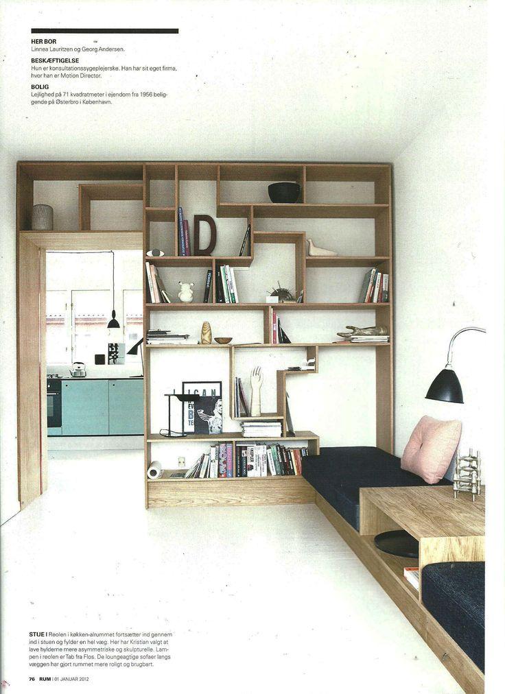 #indretning #interior #design #snedkeri #handmade #oak #reoler #opbevaring #sofa #couch #bookshelves #cabinets #wardrobe #kitchen #formica #unique #rum4 #rumid www.rum4.dk