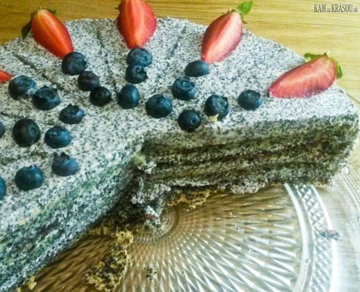 makovo maková torta, jarkapecie, bezlepkove dezerty, bezmučne recepty