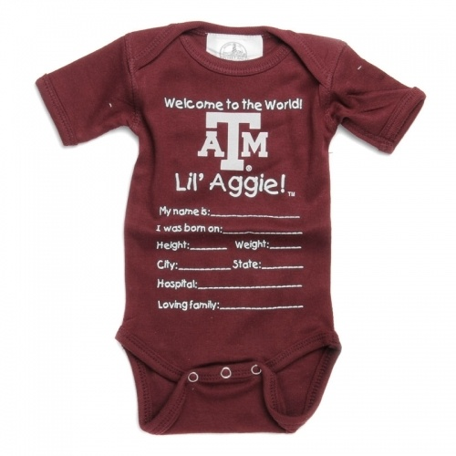 Bring that Aggie baby home from the hospital in style!